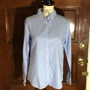 Pre-owned. Oxford Shirt with Stripes Piping